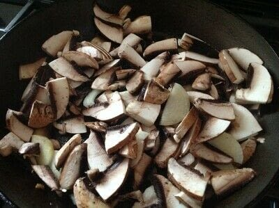 How to cook a beef dish. Salisbury Steak With Mushroom Gravy - Step 2