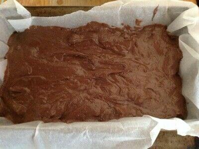 How to bake a chocolate cake. Chocolate Orange Loaf  - Step 5