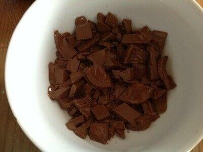 How to bake a chocolate cake. Chocolate Orange Loaf  - Step 6