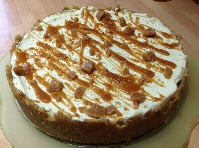 How to bake a cheesecake. Salted Caramel Cheesecake  - Step 9