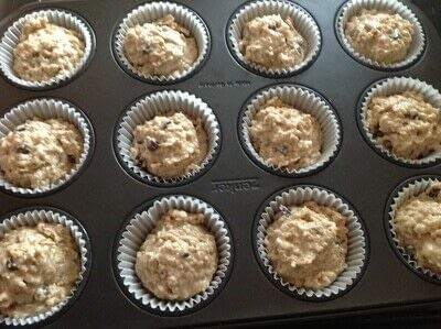 How to cook a baked treat. Oat Strudel Cups - Step 5