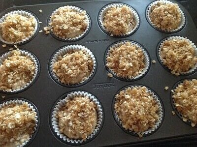 How to cook a baked treat. Oat Strudel Cups - Step 7