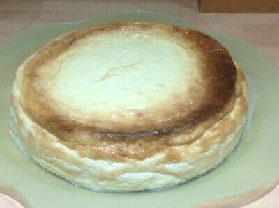 How to bake a cheesecake. Crustless N.Y Cheesecake  - Step 6
