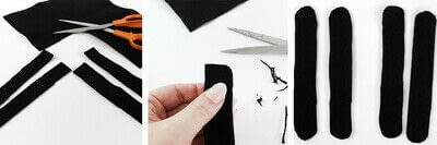How to make a piece of headwear. Diy Feather Fascinator - Step 2