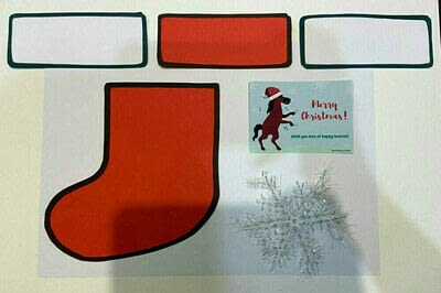 How to make a greetings card. Christmas Card To Surprise Horse Lovers - Step 1