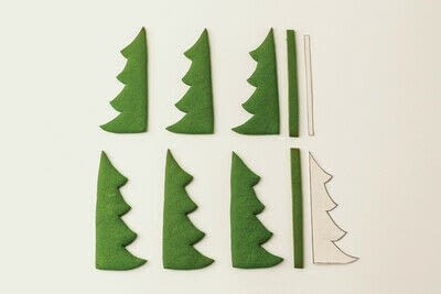 How to bake a gingerbread cookie. Gingerbread Christmas Tree - Step 5