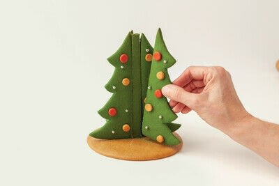 How to bake a gingerbread cookie. Gingerbread Christmas Tree - Step 14