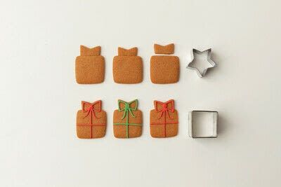 How to bake a gingerbread cookie. Gingerbread Christmas Tree - Step 17