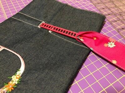 How to make a drawstring pouch. Drawstring Bag - Step 10
