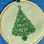 How to make an ornament. Hoop It Up Ornament - Step 6