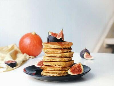 How to cook a pancake. Cinnamon Pancakes  - Step 1