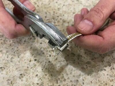 How to make a zipper bracelet. Zipper Bracelet - Step 6