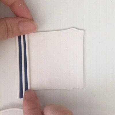 How to make a clay. Making Perfect Polymer Clay Stripes - Step 4