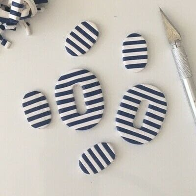 How to make a clay. Making Perfect Polymer Clay Stripes - Step 8