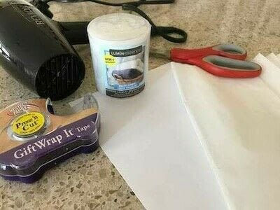 How to make a candle. Easy Candle Craft - Step 1