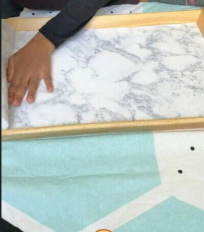 How to make a tray. How To Upgrade An Ikea Tray - Step 3