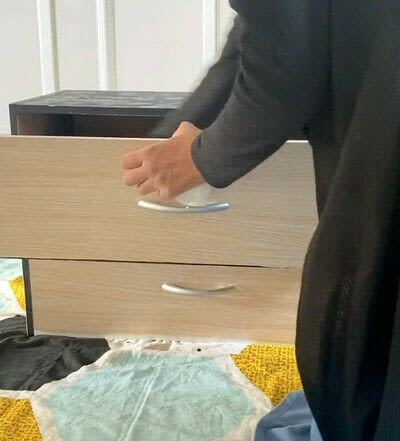 How to make a bedside table. DIY Marble Beside Table - Step 1
