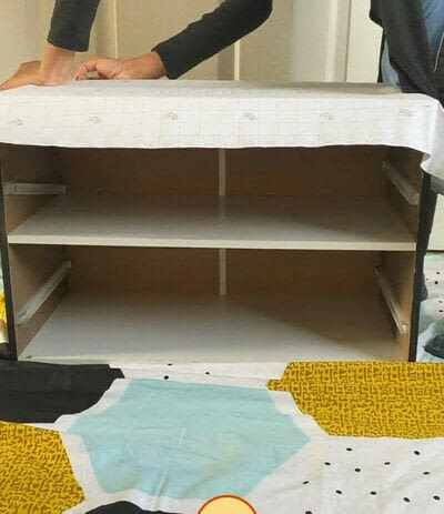How to make a bedside table. DIY Marble Beside Table - Step 2