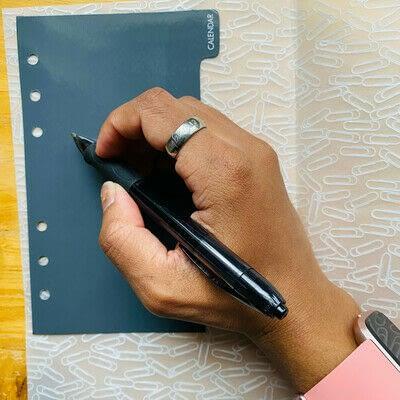 How to make a binder folder. How to Make DIY Planner Dividers - Step 1