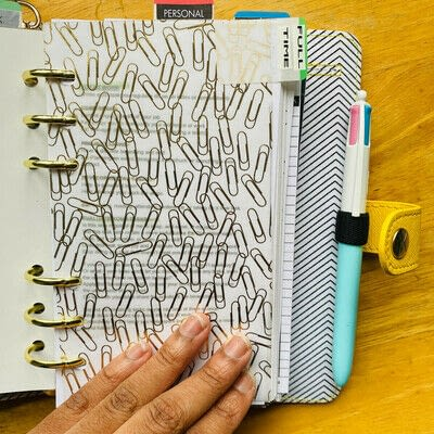 How to make a binder folder. How to Make DIY Planner Dividers - Step 5