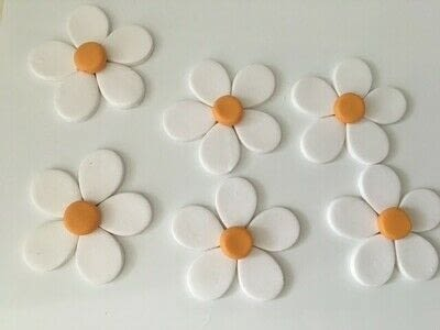 How to make a pair of clay earring. Polymer Clay Daisy Earrings - Step 9