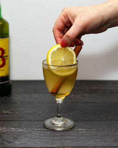 How to mix a Hot Toddy cocktail. Scotch Toddy - Step 6