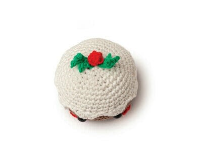 How to make a food plushie. Amigurumi Christmas Pudding - Step 5