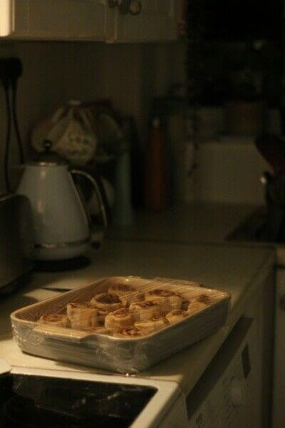 How to bake a cinnamon roll. Sunday Cinnamon Rolls - Step 4