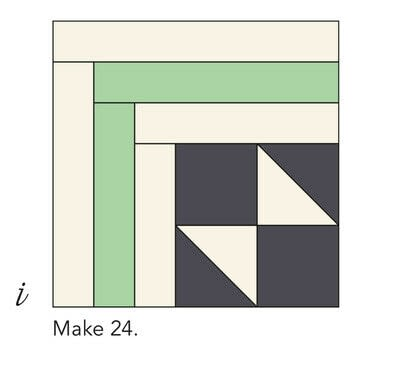 How to make a patchwork quilt. Smart Cookie Quilt - Step 10