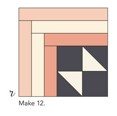 How to make a patchwork quilt. Smart Cookie Quilt - Step 19