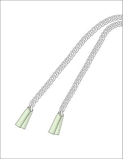 How to make a sling bag. Rosie Cross Shoulder Bag - Step 10