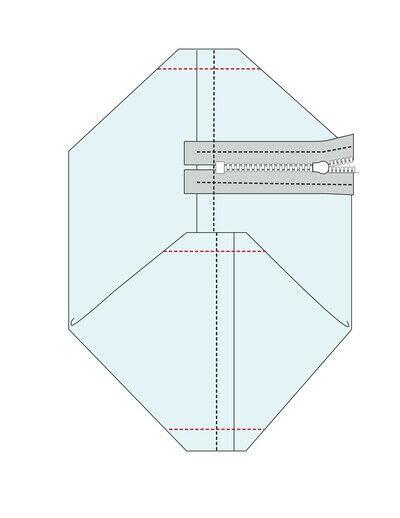 How to make a sling bag. Rosie Cross Shoulder Bag - Step 12