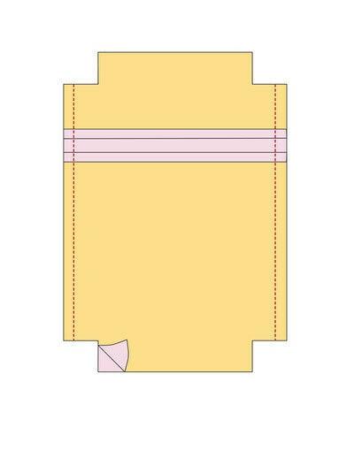 How to make a sling bag. Rosie Cross Shoulder Bag - Step 14