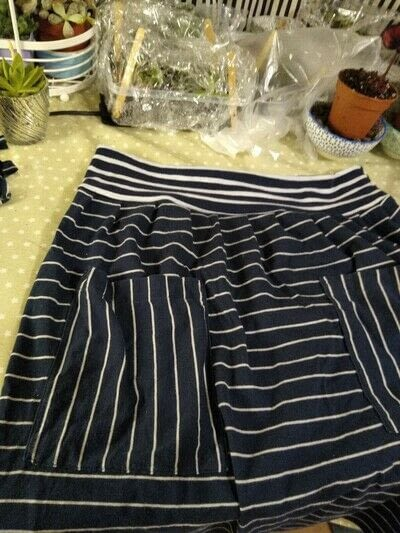 How to recycle a t-shirt skirt. Upcycle Tshirt Dress Into Suspender Skirt - Step 8