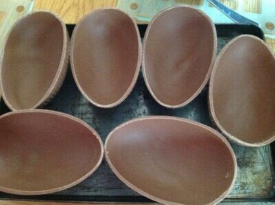 How to make a chocolate. Cheesecake Easter Eggs - Step 1