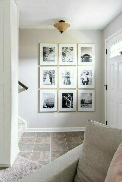 How to make a gallery wall. How To Create A Simple Modern Gallery Wall - Step 1