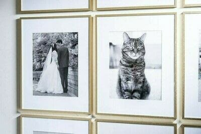 How to make a gallery wall. How To Create A Simple Modern Gallery Wall - Step 2