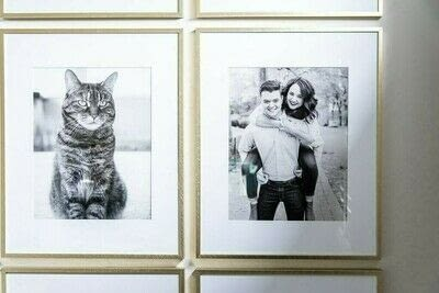 How to make a gallery wall. How To Create A Simple Modern Gallery Wall - Step 6