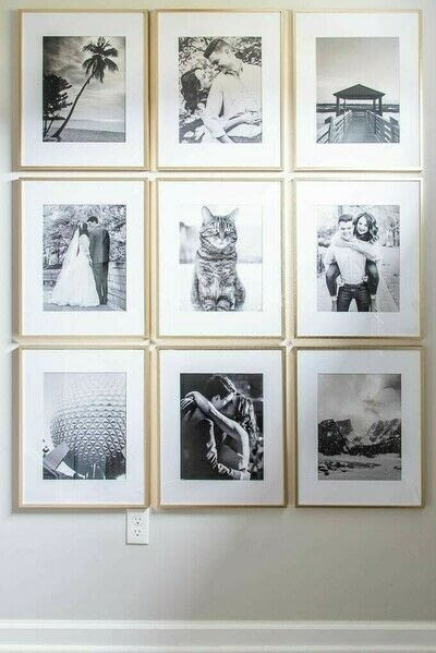 How to make a gallery wall. How To Create A Simple Modern Gallery Wall - Step 7
