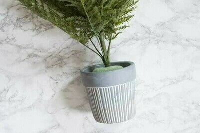 How to plant a plant / a flower / a tree. Diy Faux Fern Arrangement - Step 9