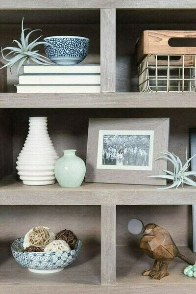 How to make a bookcase / cubby. How To Style Bookshelves - Step 2
