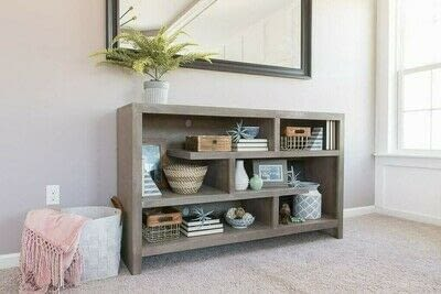 How to make a bookcase / cubby. How To Style Bookshelves - Step 10