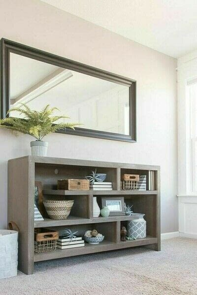How to make a bookcase / cubby. How To Style Bookshelves - Step 14