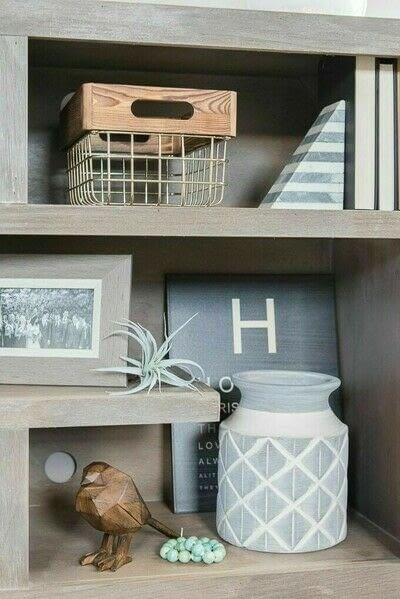 How to make a bookcase / cubby. How To Style Bookshelves - Step 16