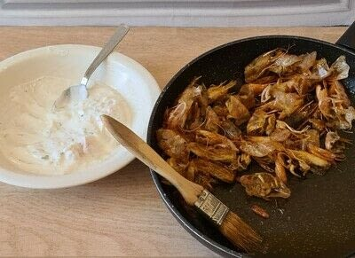 How to cook a samosa. Shrimp Samosas - Step 1