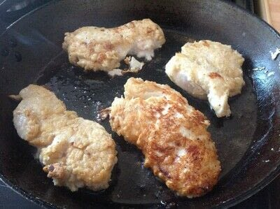 How to cook a chicken dish. Buttermilk Chicken  - Step 3