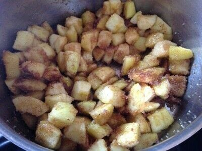 How to cook a baked treat. Sweet Apple Pockets - Step 1