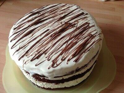 How to make ice cream. Ice Cream Cake - Step 5