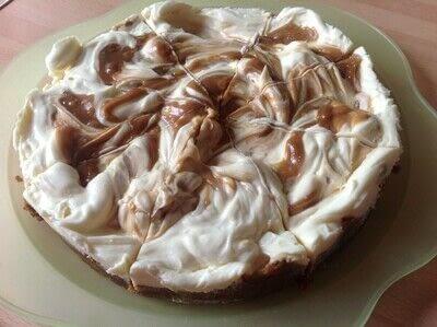 How to bake a cheesecake. Biscoff Cheesecake  - Step 6