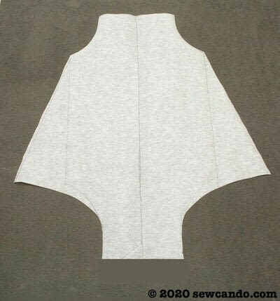 How to sew a romper. Easy Any Size Baby Bubble Romper - Step 4